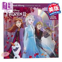 【中商原版】Read-Along:冰雪奇缘2故事合集(配CD)Frozen 2