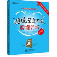 【新书店正版】谁说菜鸟不会数据分析(工具篇)张文霖 等9787121204098电子工业出版社