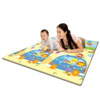 澳贝(AUBY)欢乐出游学习折垫 爬行垫双面进口XPE材质加厚游戏垫(2000*1800*5)463610A