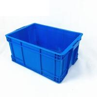 物流箱中转筐养鱼龟箱工具箱批�l塑料周转筐加厚长方形塑胶框