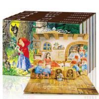 烫金版经典童话立体剧场书 5册乐乐趣畅销童书 白雪公主书三只小猪的故事书小红帽图书阿拉丁匹诺曹一年级课外书二三年级7-1