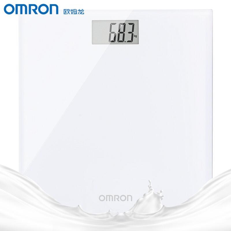 【8月限时特惠】欧姆龙家用电子体重计体重秤健康秤HN-289-W(白色)   方便快捷正品保障