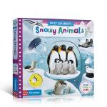 英文原版进口绘本 busy小小探索家系列 First Explorers Snowy Animals SETM科普 小