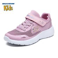 Skehers斯凯奇女童鞋新款轻质网布休闲鞋透气运动鞋