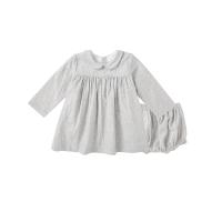 【网易严选 限时抢】棉双层纱波点娃娃裙连衣裙(婴童)