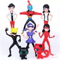 瓢虫雷迪玩具瓢虫少女雷迪Ladybug8款模型套装玩具 瓢虫少女公仔动漫手办