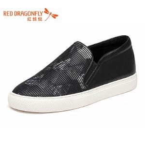 红蜻蜓女鞋秋冬休闲鞋板鞋女鞋子WZQ7033