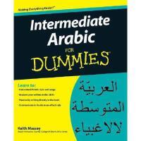 【预订】Intermediate Arabic For Dummies