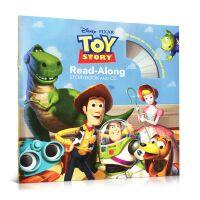 英文绘本Toy Story 玩具总动员Disney Read Along+CD 迪士尼读物