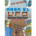 AREA 51 UFO Maintenance and Repair Manual Activity Book