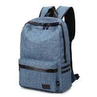 双肩包电脑包14英寸笔记本大容量背包男 女大学生书包简约