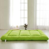 海绵纯色加厚榻榻米床垫床褥子打地铺地板柔软厚学生宿舍