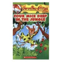 英文原版 老鼠记者05:四只老鼠生死记 Geronimo Stilton #05