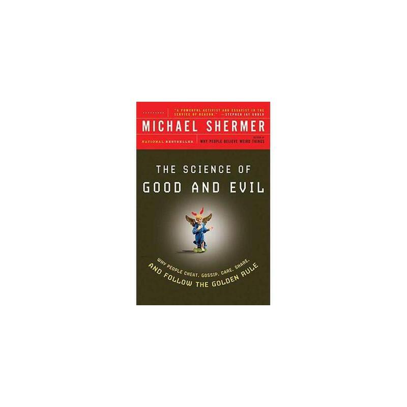 【预订】The Science of Good and Evil: Why People Cheat 美国库房发货,通常付款后3-5周到货!