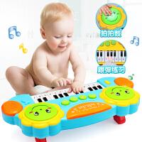 儿童音乐拍拍鼓手拍鼓可充电早教智力1岁0-6-12个月婴儿玩具3电动