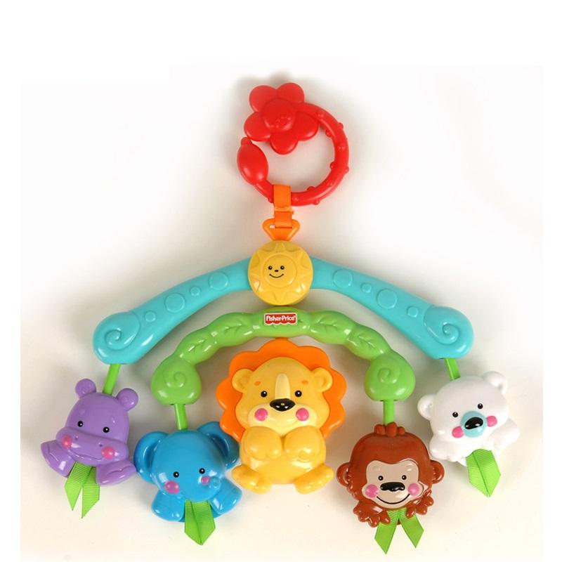 [当当自营]Fisher Price 费雪 可爱动物便携迷你床铃 婴儿玩具 R9681【当当自营】适合新生儿 睡眠安抚系列 可做床铃/车铃 小巧便携