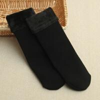 秋加厚保暖袜子男女季保暖极抗寒加绒一体短袜短靴袜 均码
