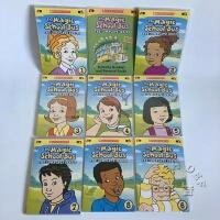 纯英语原版 神奇校车1-4季The Magic School Bus 动画片DVD 8碟装