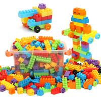 儿童积木塑料玩具3-6周岁智力男孩1-2岁女孩宝宝拼装拼插7-8-10岁