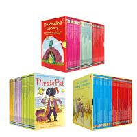 My First Reading Library 我的第一/二/三个图书馆 套装140册合售 Usborne尤斯伯恩 英文原版进口 少儿童分级阅读图文故事书3-6-8-11岁 我的图书馆系列