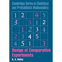 【预订】Design of Comparative Experiments