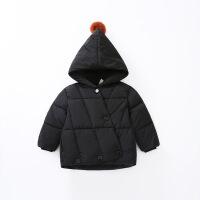 宝宝棉衣女 1-3岁女童棉袄儿童冬季洋气外套婴儿加厚冬装男一