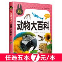 动物大百科 儿童彩图注音版 炫彩童书系列