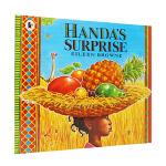 英文原版 廖彩杏书单推荐 Handa`s Surprise: Read and Share 汉娜的惊喜 英国谢菲尔德儿