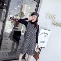 2018春夏季新款韩版气质小香风名媛女装鱼尾背心裙两件套装时尚潮