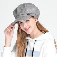 【下单即享满299减200元】TFO 2018新款 毛呢针织提花 女款时尚保暖贝雷帽子