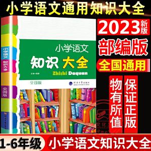 2021版小学语文知识大全 第七次修订经纶学典 1-6年级知识复习  全国通用版