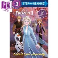 【中商原版】阅读进阶3级:冰雪奇缘2 (Disney Frozen 2) forest of shadows 冰雪奇缘