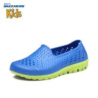 Skechers斯凯奇 男童鞋疏水凉鞋 透气套脚休闲鞋92165L