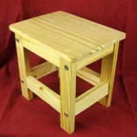 宜哉 学生板凳 松木小板凳 小凳子 儿童凳子 全实木 无油漆
