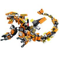 森宝S牌钢铁侠变形机甲战士拼装积木模型玩具复仇者60020