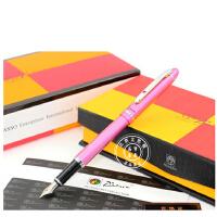 Picasso毕加索PS-608安格丽斯玫瑰红铱金笔/墨水笔/钢笔