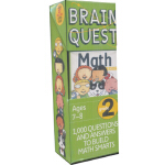 【正版全新直发】Brain Quest Grade 2 Math Marjorie Martinelli 978076