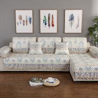 四季通用布艺沙发垫欧式坐垫