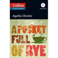【现货】英文原版 阿加莎ELT读本(96页)+CD:黑麦奇案Collins A Pocket Full of Rye