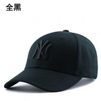 帽子女夏季韩版潮流亮片黑色棒球帽男休闲青年子款儿童鸭舌帽
