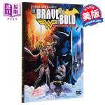 【中商原版】蝙蝠侠和神奇女侠 英文原版 The Brave and the Bold: Batman and Wond