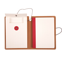 悦声洗水牛皮笔记本本色学生文具记事复古简约96页 BC01156 当当自营