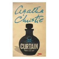 英文原版小说 CURTAIN: POIROT'S LAST CASE窗帘:波洛的后一案 阿加莎侦探系列