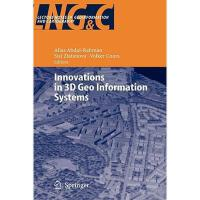 【预订】Innovations in 3D Geo Information Systems