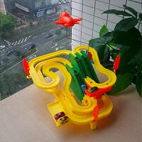 益龙灵(YILONGLING) 汽车大楼男孩轨道赛车礼物跑车游戏极电动汽车玩具盘旋公路