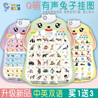 乐乐鱼有声挂图儿童幼儿早教启蒙学拼音认字语音宝宝看图识字发音