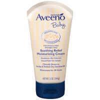 美国进口Aveeno baby艾维诺婴儿燕麦舒缓滋润保湿面霜湿疹润肤霜 进口保税 正品保证 深层滋润保湿