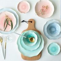 陶瓷餐具套装家用盘子菜盘饭碗汤碗碟套装