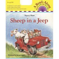 【预订】Sheep in a Jeep [With CD]