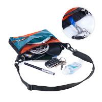 户外运动布袋小挎包单肩包斜挎包日常背包 休闲用品包男女
